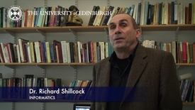Thumbnail for entry Richard Shillcock - Informatics - Research In A Nutshell - School of Informatics -15/11/2012