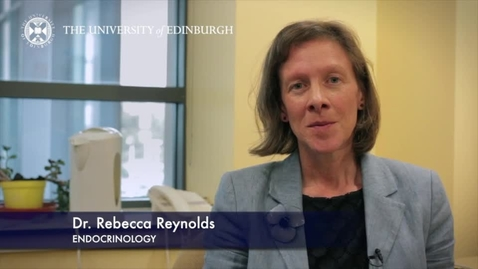 Thumbnail for entry Rebecca Reynolds -Endocrinology - Research In A Nutshell - Queen's Medical Research Institute -17/07/2013
