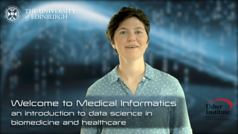 Thumbnail for entry  Lecture 1 video 01 : welcome to Medical Informatics - Areti Manataki