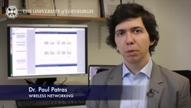 Thumbnail for entry Paul Patras - Wireless networking - Research In A Nutshell - School of Informatics -07/01/2015