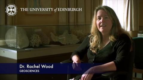 Thumbnail for entry Rachel Wood - Geoscience- Research In A Nutshell - School of GeoSciences -08/11/2012