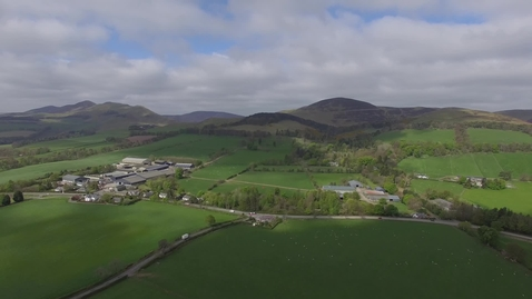 Thumbnail for entry The Pentland Hills from Easter Bush