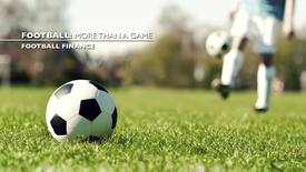 Thumbnail for entry Stephen Morrow- Football : More Than A Game