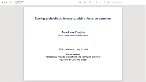 Thumbnail for entry Anne-Laure Fougeres EVA Talk Preview