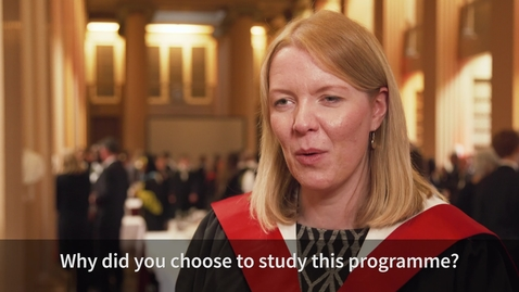 Thumbnail for entry Hear from one of our Clinical Management of Pain Graduates