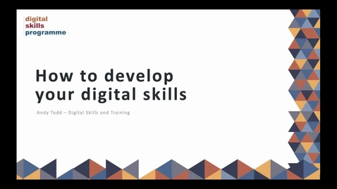 Thumbnail for entry (UG/PG) How-to Develop your Digital Skills