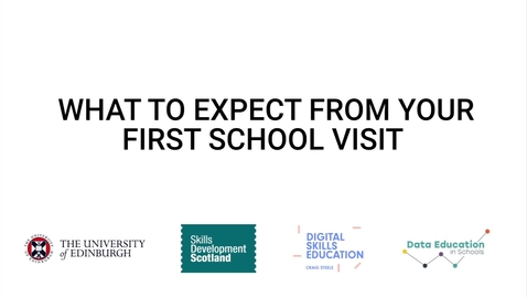 Thumbnail for entry Video 1 - What to expect from your first school visit