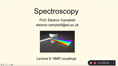 Thumbnail for entry Chem 1 Spectroscopy Lecture 6