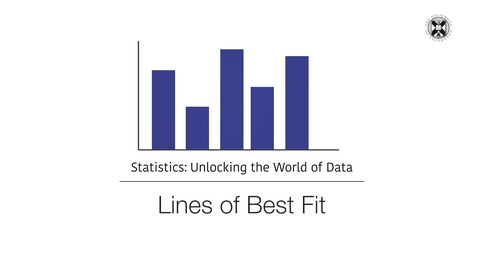 Thumbnail for entry Statistics - Lines of Best Fit