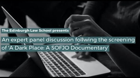 Thumbnail for entry A Dark Place   A SOFJO Documentary   Panel Discussion