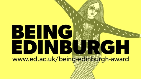 Thumbnail for entry Vote for Barbara, Nanshan or Tom! Who is Being Edinburgh 2020?