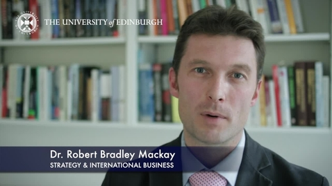 Thumbnail for entry Brad Mackay -Strategy & International Business - Research In A Nutshell-Business School-31/10/2012