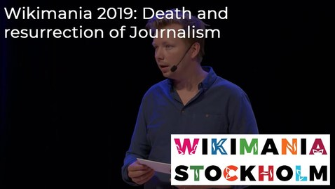 Thumbnail for entry Death and resurrection of Journalism