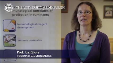 Thumbnail for entry Liz Glass - Veterinary Immunogenetics - Research In A Nutshell - Royal (Dick) School of Veterinary Studies-15/01/2013