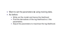 Thumbnail for entry Learning the Parameters