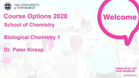Thumbnail for entry Chemisty - Biological Chemistry 1
