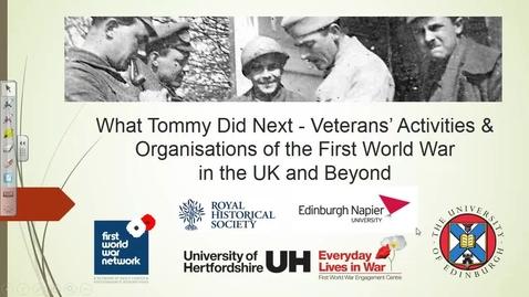 Thumbnail for entry Closing Plenary - led by Jay Winter