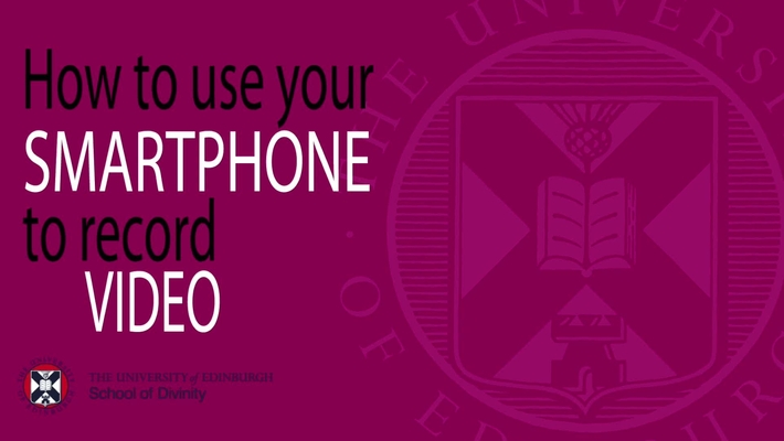 How to make videos using your smartphone