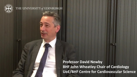 Thumbnail for entry Professor David Newby - Research in a nutshell