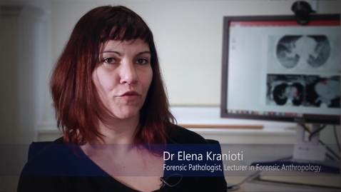 Thumbnail for entry Dr Elena Kranioti - Forensic Pathology - Research In a Nutshell