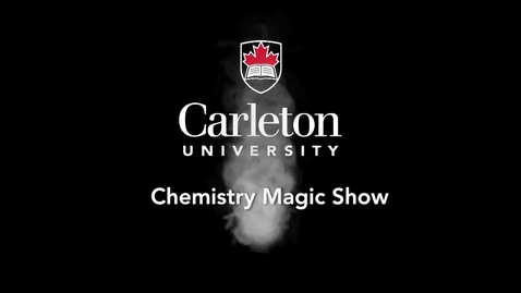 Thumbnail for entry 2015 Chemistry Magic Show - Liquid Nitrogen