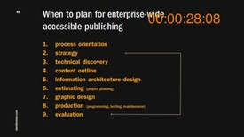 Thumbnail for entry 4. The Planning Process Time Code burn