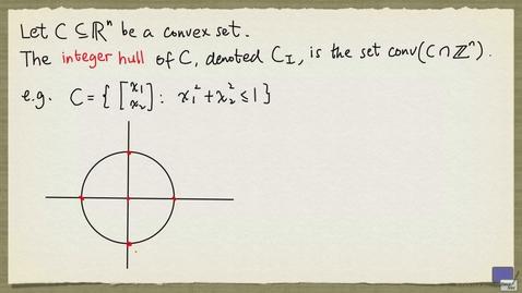Thumbnail for entry 4 - Integer hull
