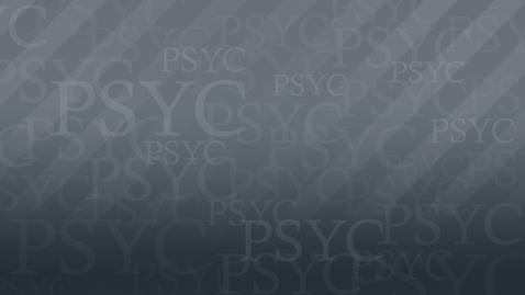Thumbnail for entry PSYC1001_Bowker-MC_720P