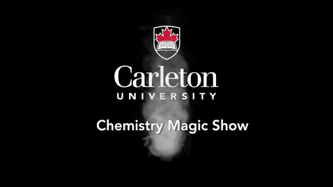 Thumbnail for entry 2015 Chemistry Magic Show - Methylene Blue