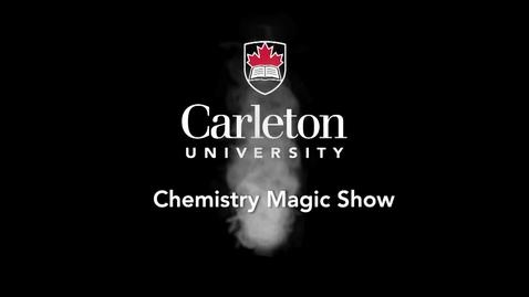 Thumbnail for entry 2015 Chemistry Magic Show - Methylene Blue