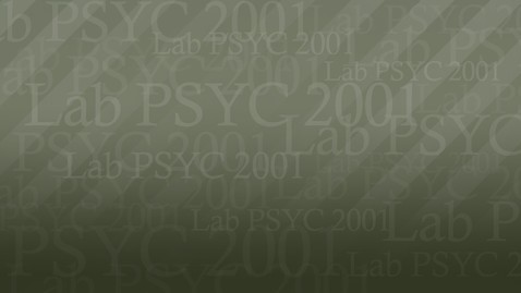 Thumbnail for entry PSYC2001 Rob01 MC 720P