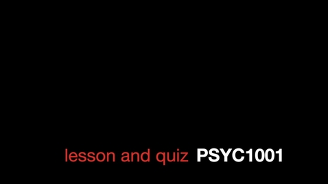 Thumbnail for entry E Carleton Lesson and Quiz