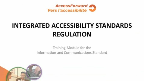 Thumbnail for entry Information and Communications Standards
