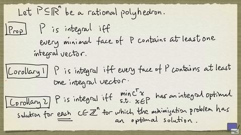 Thumbnail for entry 4 - Integral polyhedra