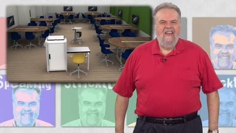 Thumbnail for entry Stricktly Speaking-Let's Be Active! New Classrooms on Campus