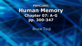 Thumbnail for entry 2014 Psyc 1001 CH7 A MC 720p