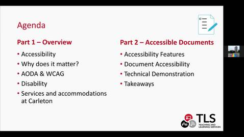 Thumbnail for entry TLS Workshop: Accessibility and Inclusive Design_July 17_2020