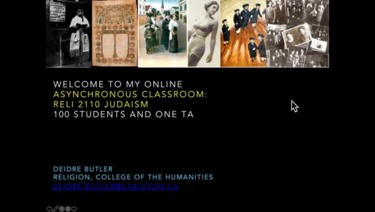 Welcome to My Online Classroom - Deidre Butler
