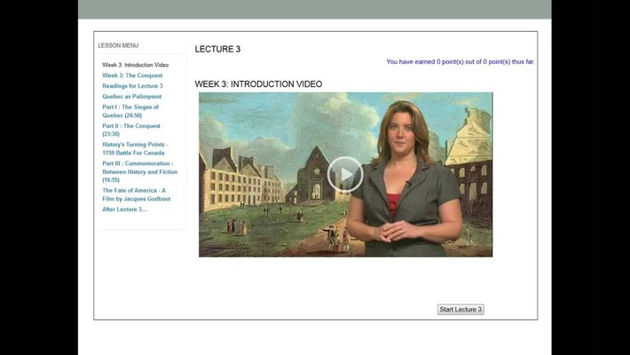 Transforming live lecture into online lesson - Maristela PD 2013.