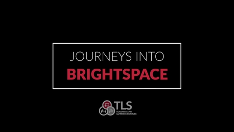 Thumbnail for entry Brightspace Showcase, Instructor Testimonials