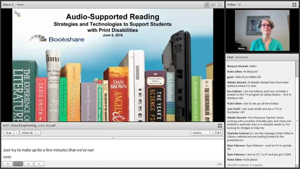 Audio Supported Reading (ASR) Instructional Strategies | Perkins