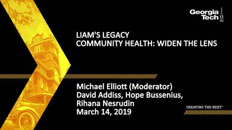 Thumbnail for entry David Addiss, Hope Bussenius, Rihana Nesrudin, Michael Elliott - Community Health: Widen the Lens