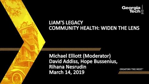 Thumbnail for entry David Addiss, Hope Bussenius, Rihana Nesrudin, Michael Elliott - Community Health: Widen the Lens