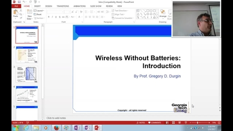 Thumbnail for entry ECE8813(01): Introduction; Trends in Power and Computation