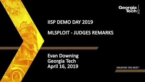 Thumbnail for entry Evan Downing - MLsploit