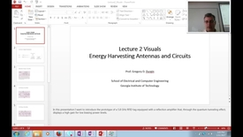 Thumbnail for entry ECE8813(02): Antennas in Circuits for Communications and Energy Harvesting