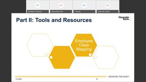 Thumbnail for entry Workforce Administration -- GTPROD Legacy -- OneUSG Connect employee class mapping