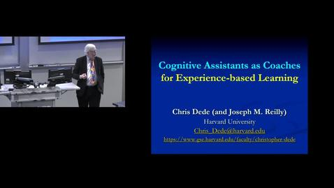 Thumbnail for entry Cognitive Assistants as Coaches for Experience-based Learning