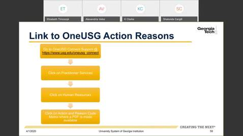 Thumbnail for entry Workforce Administration -- Action and reason codes