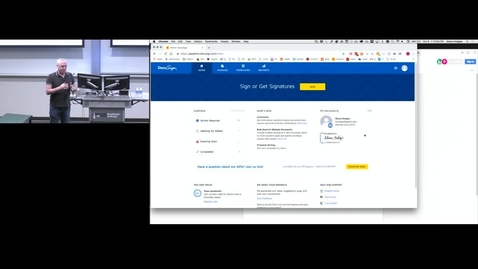 Thumbnail for entry Automated Workflow with DocuSign API and GT Web Future, Drupal 8 and GT Theme